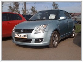 Автомобиль Suzuki Swift 1.3 MT 4x4